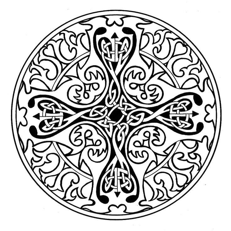 24++ Celtic coloring pages for adults information