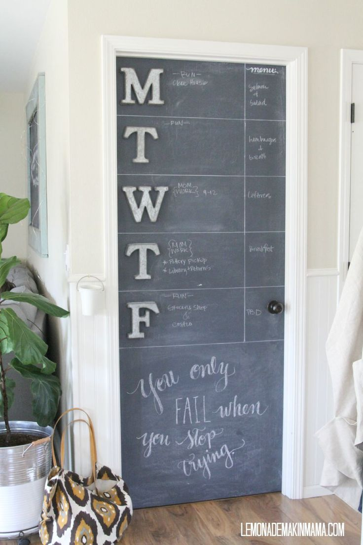 kitchen chalkboard wall ideas best 25 chalkboard pantry doors ideas on 19319