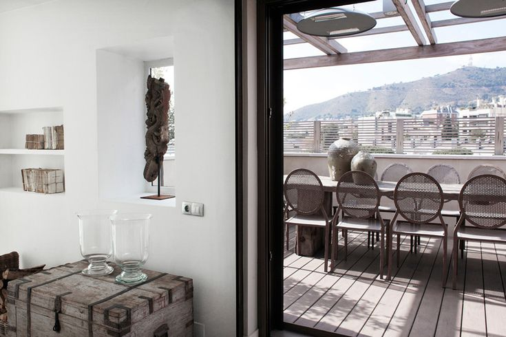 VoyeurDesign - Ático con piscina en Barcelona