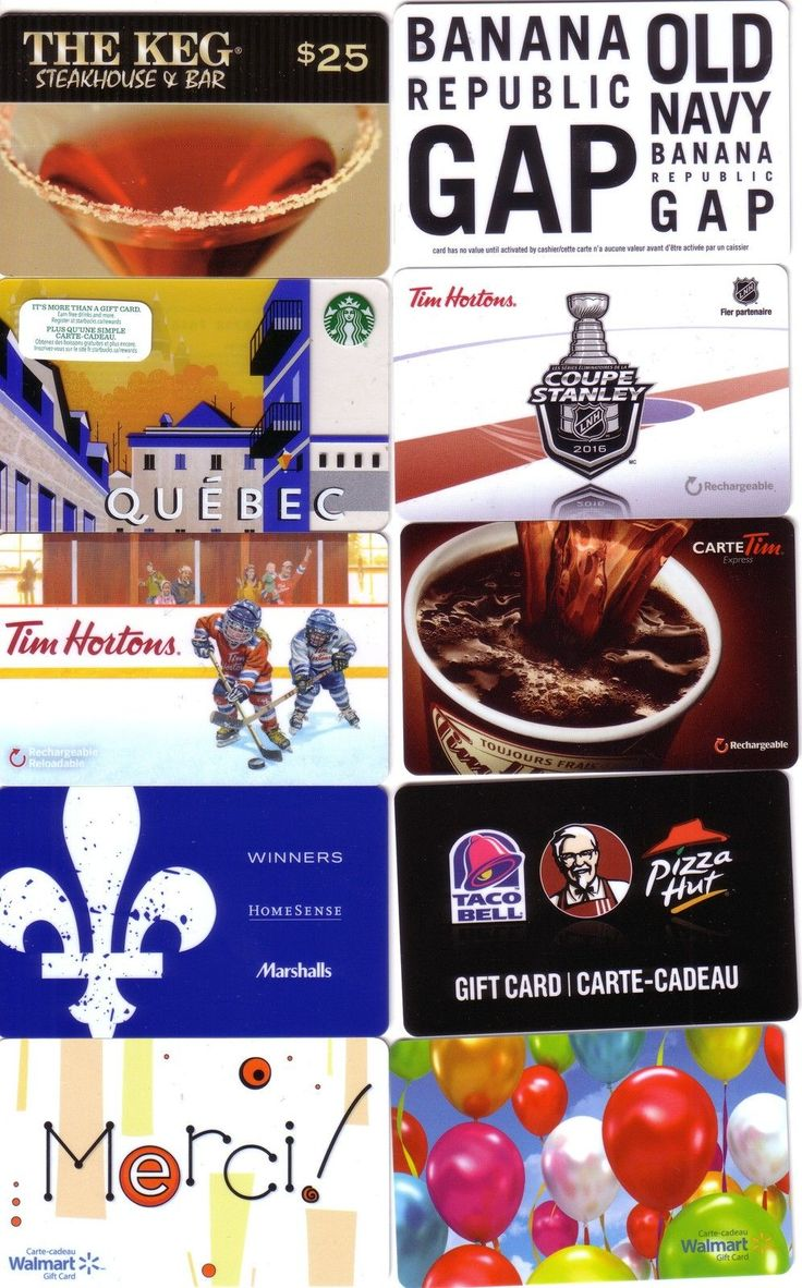 10x STARBUCKS / Walmart / Tim Hortons /gap /etc..GIFT CARD CANADA NO VALUE NEW !  http://searchpromocodes.club/10x-starbucks-walmart-tim-hortons-gap-etc-gift-card-canada-no-value-new-2/