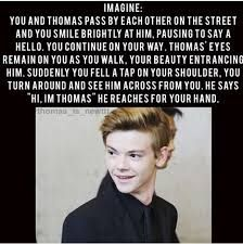 Image result for thomas brodie-sangster maze runner quotes