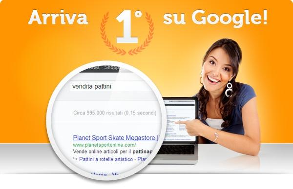 Quanto conta essere primi su google? Clicca sull'immagine e scopri la risposta :)