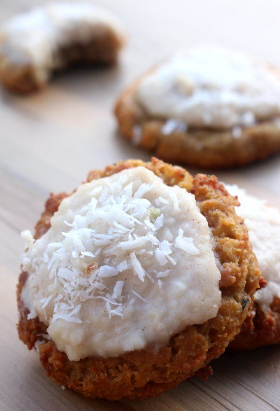 Frosted Banana Crunch AIP Cookies (AIP, Paleo) - guest post from Gabriella of Beyond the Bite   Cook It Up Paleo