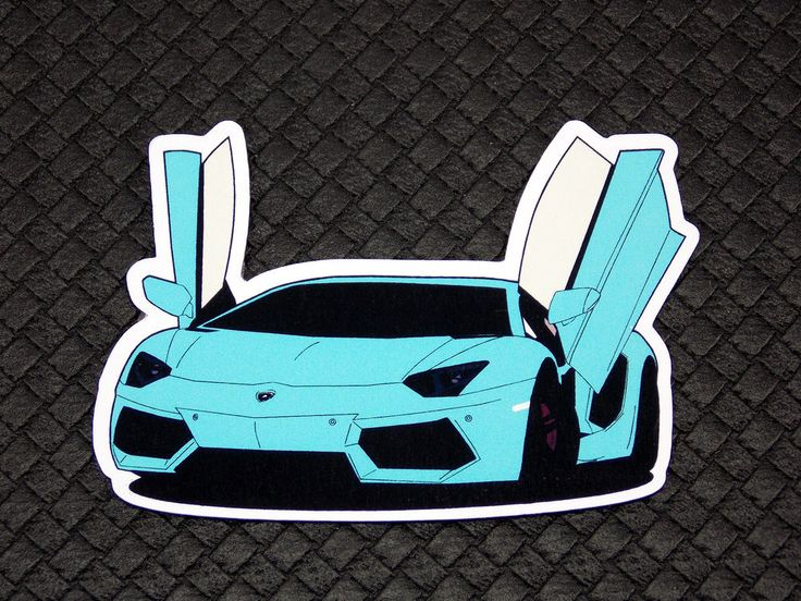 Lamborghini Aventador Flexible Fridge Refrigerator Magnet Unique Gift by Osarix
