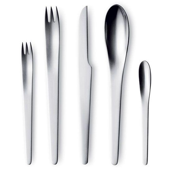 Arne Jacobsen Cutlery 30 Pieces, Georg Jensen