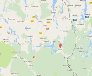 Gospodarstwo Agroturystyczne u Basi i Waldka: W tym właśnie miejscu we wsi Zelwa koło Augustowa ...