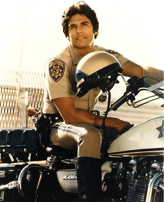 Erik Estrada in CHIPS!  He could've pulled me over any time..although I was too young to drive