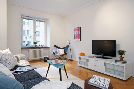 Small Studio Apartment Colors and Texture Ideas