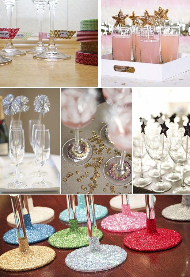 Inspiraci n ideas para una fiesta de nochevieja 100 - Decoracion mesa nochevieja ...