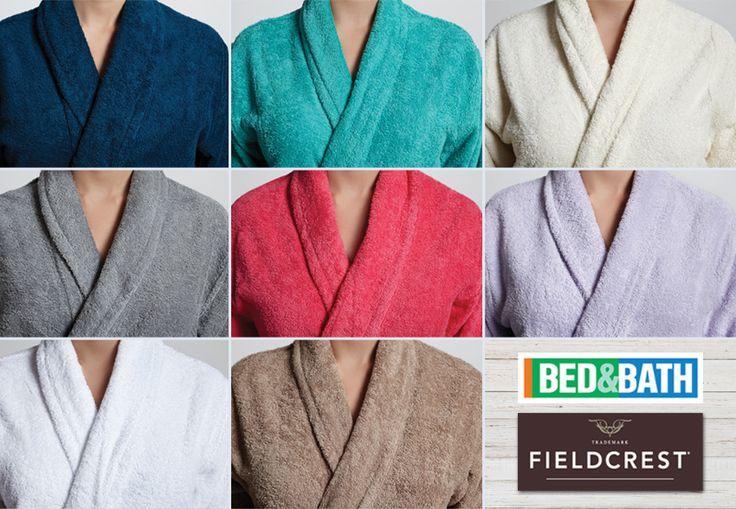 Μπουρνούζι FIELDCREST μονόχρωμο πετσετέ 100% βαμβάκι 8 ΧΡΩΜΑΤΑ.- Bathrobe FIELDCREST solid terry 100% Cotton 8 COLORS