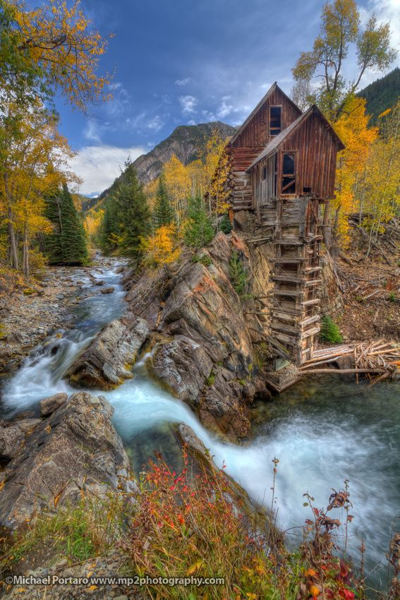 Crystal Mill, Marble Colorado. Saw this in a painting once and heard its not that bad of a hike!