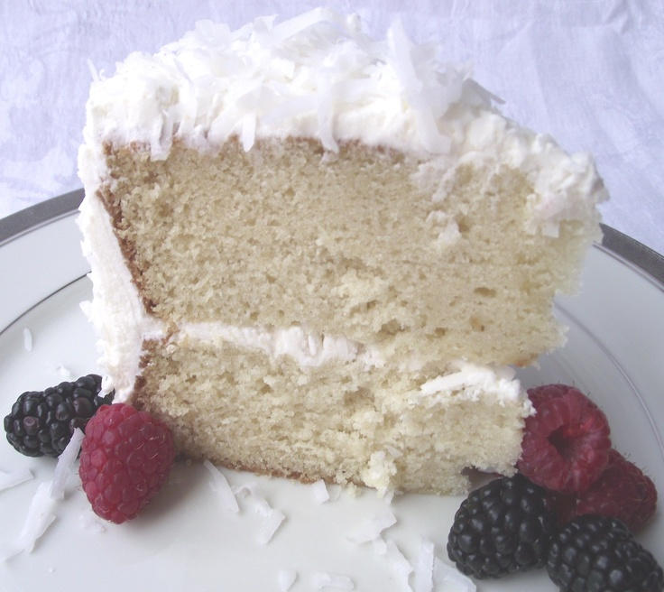 Delightfully Delicious Coconut CakeDesserts, Recipe, Sweets, Coconut Cake From Scratch, Delicious Coconut, Coconut Cakes, Baking, Delight Delicious, Food Drinks