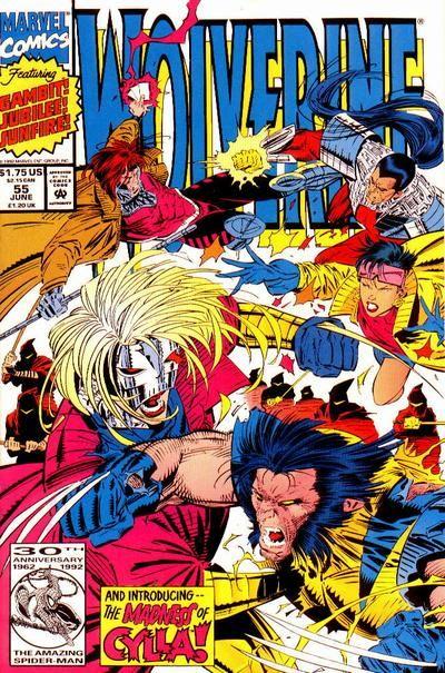 Wolverine Vol. 2 # 55 by Marc Silvestri & Dan Green