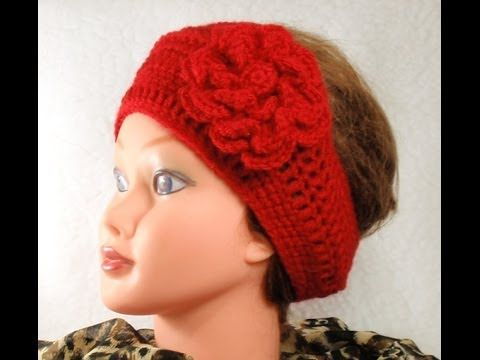 How to Chrochet Headband, Tutorial, DIY, Ear Warmer