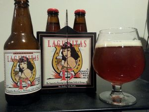 Lagunitas Lucky 13.  May be my favorite red ale.
