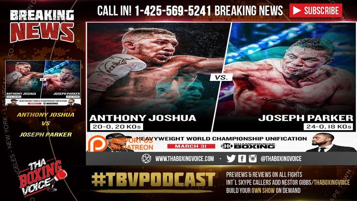 Anthony Joshua vs Joseph Parker OFFICIALLY on Showtime NOT HBO #Featured #Homepage #allthebelts #boxing