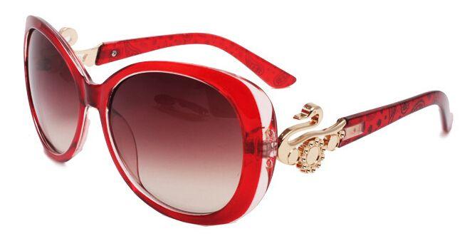 Red Women Sunglasses acetate Luxury aviator pilot multi Swan Metal designer Sun Glasses Vintage Sunglass 3026 Eyewear $32.21