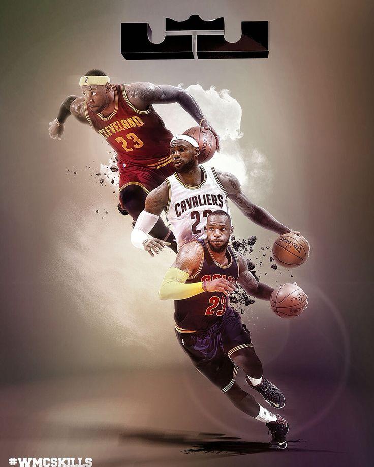 NBA Lebron James #wmcskills (Basketball Pictures)