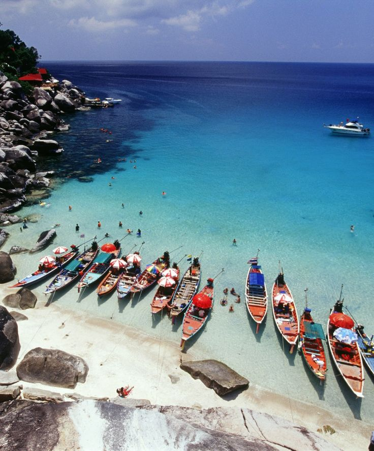 Ko Tao, Thailand. Ko Tao is an island in Thailand and forms part of the Suratthani Archipelago on the western shore of the Gulf of Thailand.