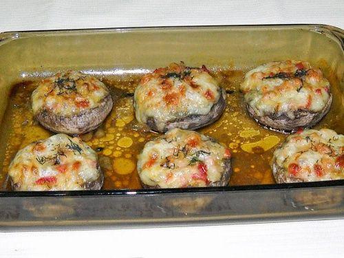 Ciuperci umplute - imagine 1 mare