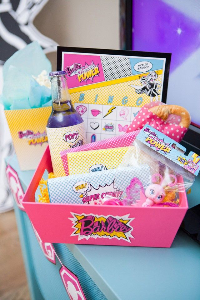 Anders Ruff Custom Designs, LLC: Barbie in Princess Power Movie Viewing Party
