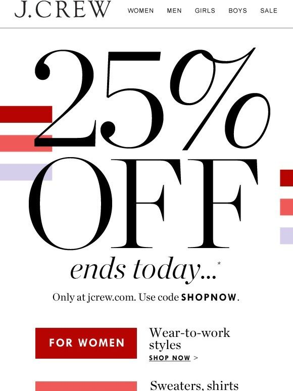 21 best email ideas images on pinterest coupon codes banana these amazing sale events end tonight dont miss them email fandeluxe Gallery