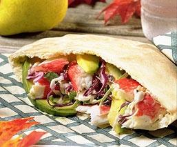 Sándwich De Pan Pita - Recetas de Cocina Tipicas de Colombia