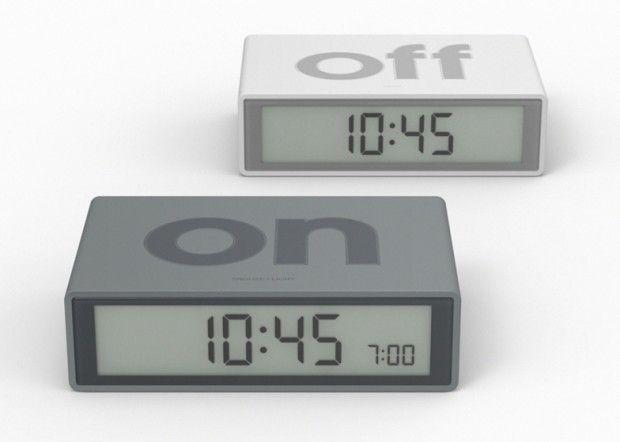 FLIP alarm clock par DesignWright pour Lexon