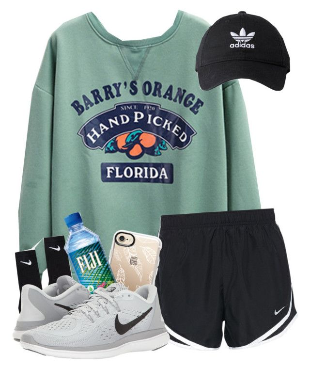 """""""Volleyball tourney today"""" by magsvolleyball2 ❤ liked on Polyvore featuring Casetify, NIKE and adidas"""