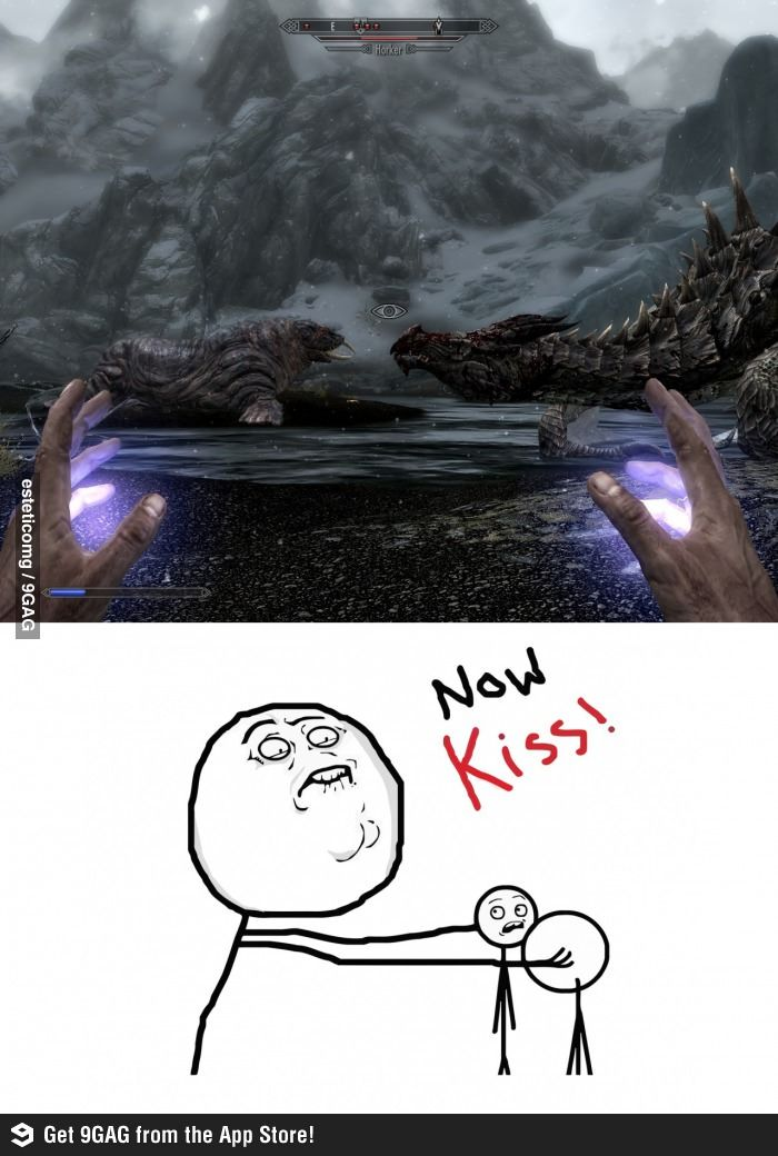 The Elder Scrolls V: Skyrim I can't stop laughing. Oh god my sides hurt.