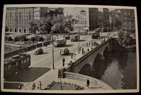 Pitkäsilta, 1950-luku