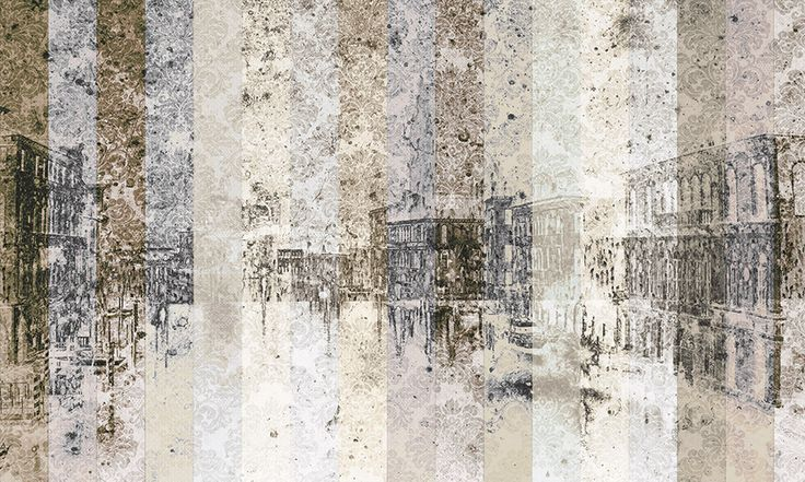 Carta da parati Venice Abstract Lagoon - Geco Wallpaper&More
