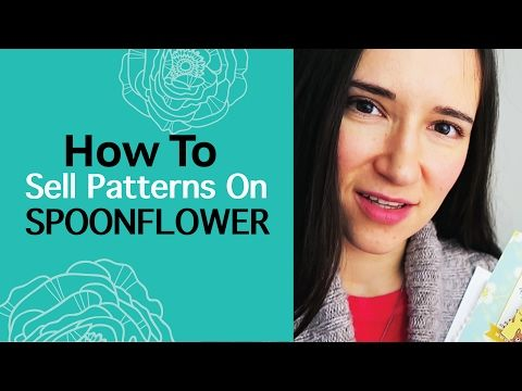 Spoonflower review 2017. How to sell pattern designs on Spoonflower fabric, wallpaper, wrapping - YouTube