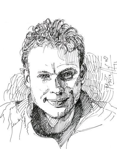 """3x daags 1 ADO Den Haag spelersportret Dit keer Hans van Haar. Tijdens en in aanloop naar de expositie """"ADO Den Haag 2001 – 2013 in 40 spelersportretten"""" van 25 november t/m 7 december in het Atrium in Den Haag plaatsen we dagelijks 3 willekeurige portretten op diverse media. Meer over deze expositie en de tekeningen van Marcello&Els vind je hier http://marcellos.nl/kunst/ado-den-haag/"""