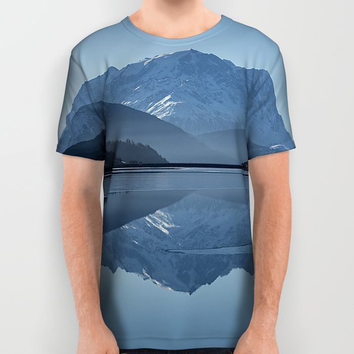 Idyllic Lake All Over Print Shirt by Gallery One | Society6