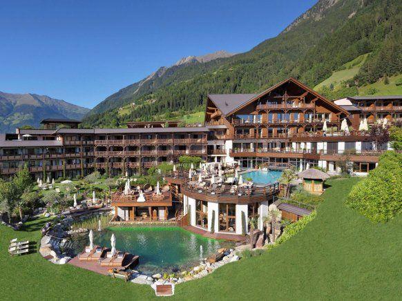 Das Andreus Resort in Südtirol ist auf Wellness.