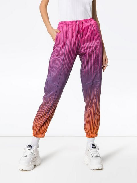 a6d19a83f91aa HOUSE OF HOLLAND stripe print ripstop track pants $443 - Buy Online -  Mobile Friendly, Fast Delivery, Price