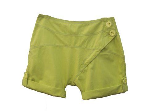 shorts saruel feminino da moda