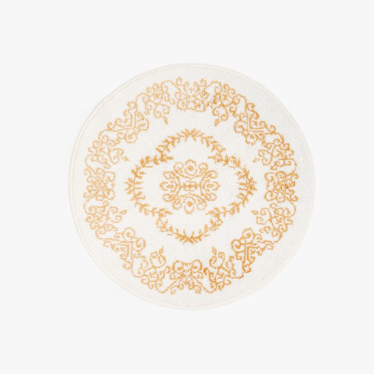 Image 1 of the product Round damask rug