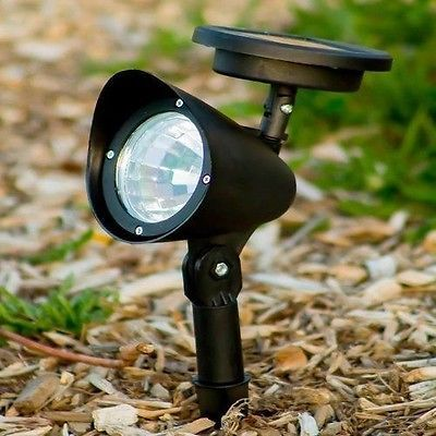 3 solar landscape spot lights 3 led lamp landscape flood powered lawn security - Solar Landscape Lights