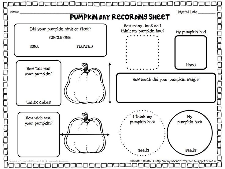 kindergarten pumpkin math worksheets a pumpkin unit filled with lessons printables and more7. Black Bedroom Furniture Sets. Home Design Ideas