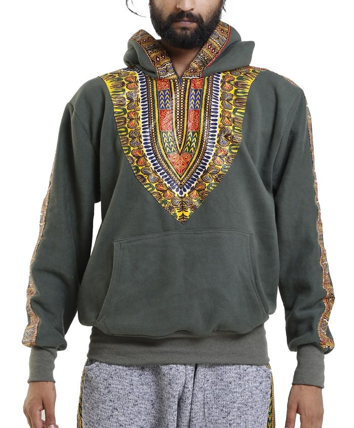 Kujaa Dashiki Hoodie (jg)  Chilling outfit.  In leu of the pro-black movement.