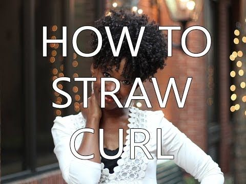 4A/4B Straw Set On Natural Hair - Natural Hair Care, Beauty and Lifestyle Blog