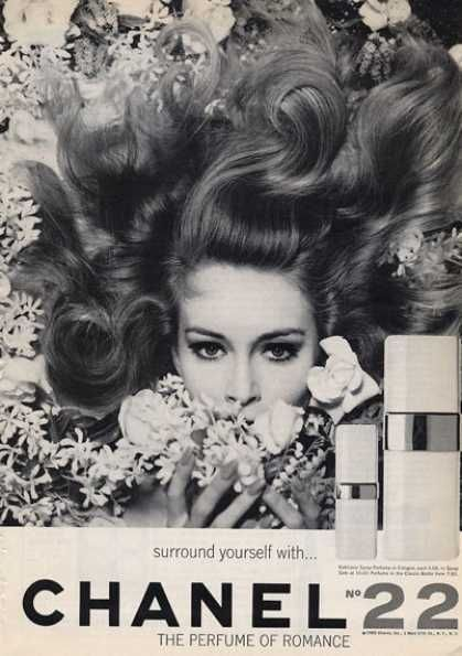 Vintage Chanel Ad from the 1960s