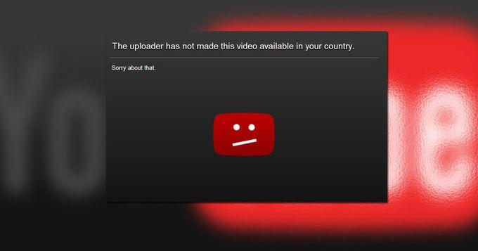 Cómo ver vídeos bloqueados en YouTube saltándose el filtro regional