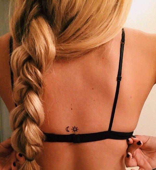 Warme und helle Sonne Tattoo Ideen: # 12. Versteckte Orte; #Sonne; #tattoos #Tattoos #Ale