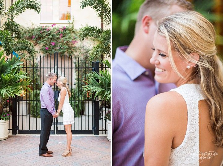 Downtown St Petersburg Engagement | Tampa St Petersburg Engagement Photography | Anna Lucia Events | Nautical Engagement Photography