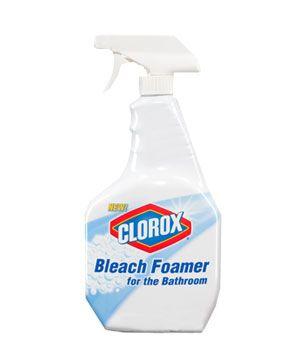 Clorox Bleach Foamer for the Bathroom, $4, #dailyfinds: Bleach Foamer, Foamer Cleaners, Clorox Cleaners, Cleaning Tools, Cleaning Stuff, Clorox Bleach, Bathroom Smells, Smells Cleaning, Cleaning Products