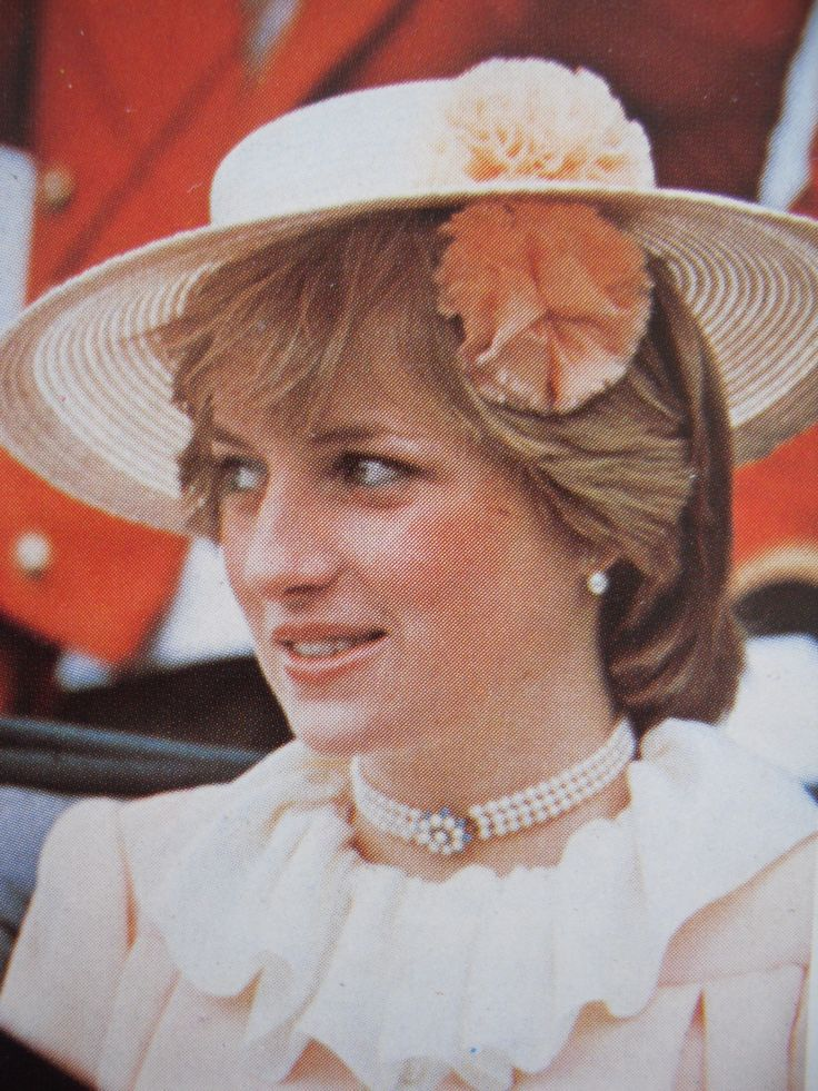 Lady Diana Spencer at Royal Ascot. Undated/Uncredited Image.