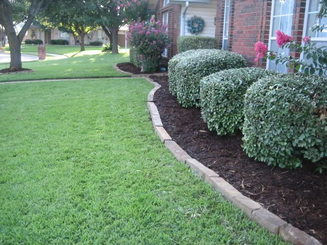 Oaklahoma Chopped Stone Edging Landscaping Pinterest
